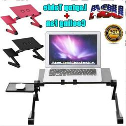 360° Adjustable PC Computer Laptop Stand Table Notebook Des