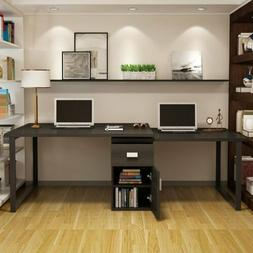55''Modern Rotating L-Shaped Computer Desk with Storage File