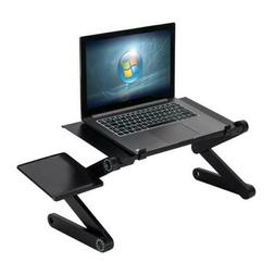 Adjustable Laptop Table Folding Computer Desk Tray Stand For