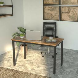 """Computer Desk, 47"""" Simple  Study Writing Table for Home Offi"""