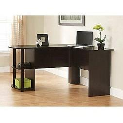 Computer Desk L Shaped Home Office Furniture with Side Stora
