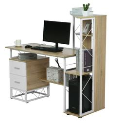 Computer Desk PC Laptop Table w/Drawer & Shelf Home Office S