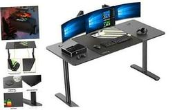 Computer Gaming Desk 60 Inch, PC Laptop Table Workstation wi