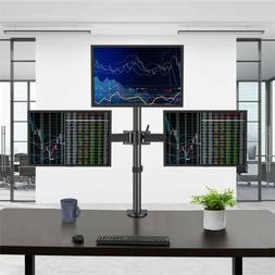 Desk Triple Arm Mount Bracket Stand LCD LED Monitor Computer