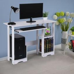 Computer Desk Home Office Wood Laptop Table Study Workstatio