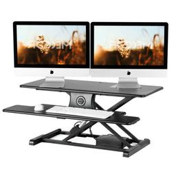 Computer Desk PC Workstation Study Writing Table with Shelf&