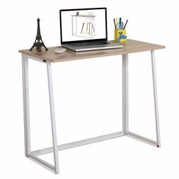 4NM Folding Table Small Foldable Computer Home Office Laptop