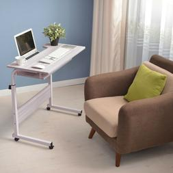 Height Adjustable Home Office Desk Mobile Computer Table Wri