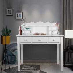 Home Office Furniture Writing Desk,Computer Work Station wit