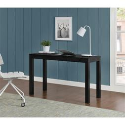 Home Office School Large Modern Parsons Computer Desk with 2