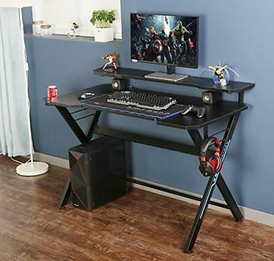 """48"""" Office Gaming Computer Monitor Stand, Lar"""
