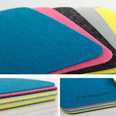Compact Size Felt Fashionable Mouse Pad Computer Gaming Mouse Mat OI