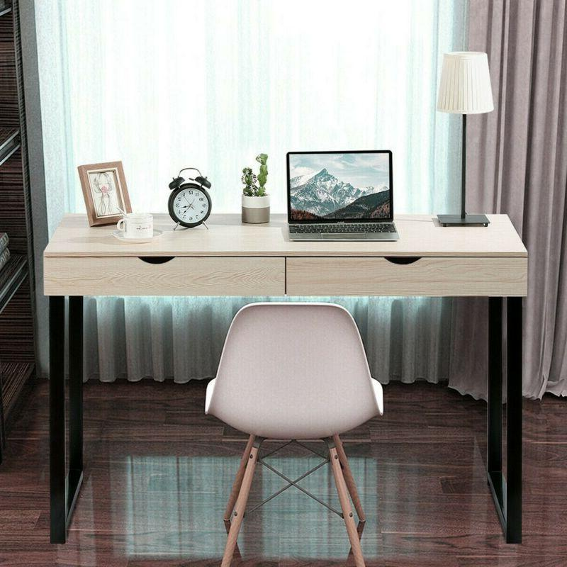 Computer Table Study Home w/Drawers