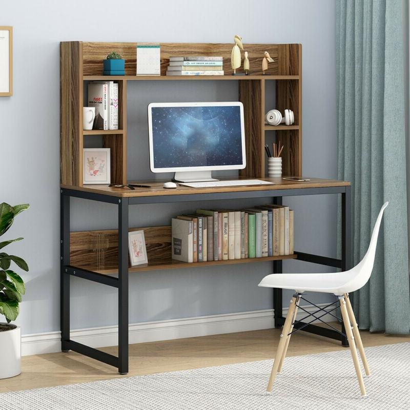 """47"""" Computer Writing Hutch For Home Office"""