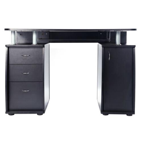 Coner Computer Study Home Furniture Drawers