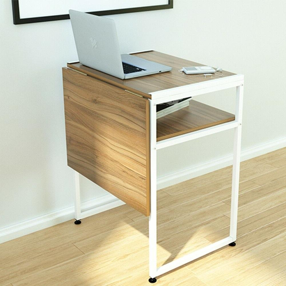 Extendable Restaurant Dining Table Computer Laptop Breakfast Coffee Shop
