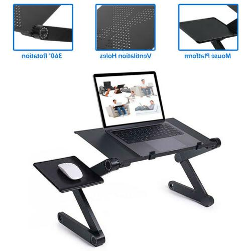 folding laptop table computer desk stand w