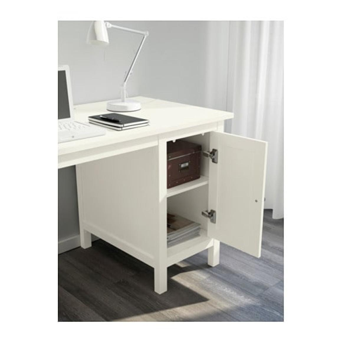 Hemnes Desk With Hutch The Office