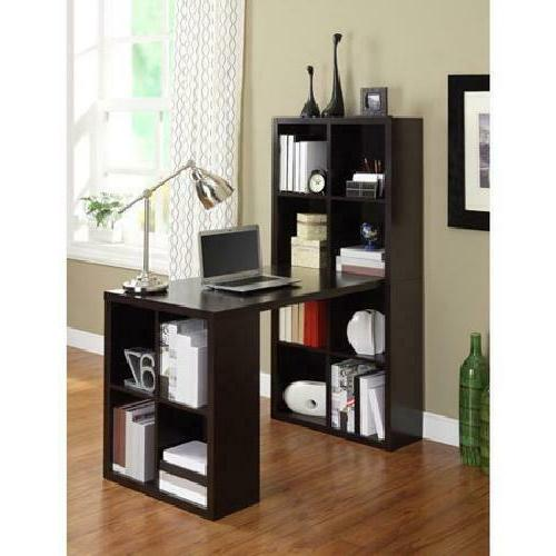 Hobby Desk Espresso Shaped Student Table W