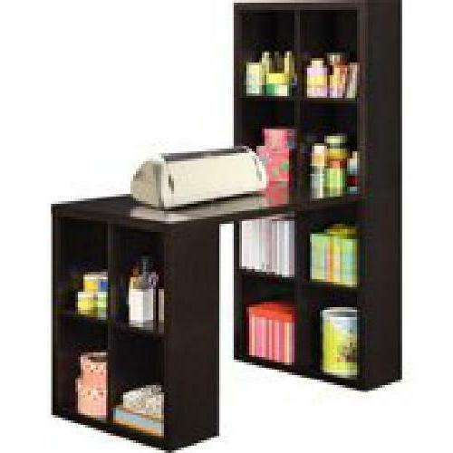Hobby Desk L Shaped Hutch Home Student W