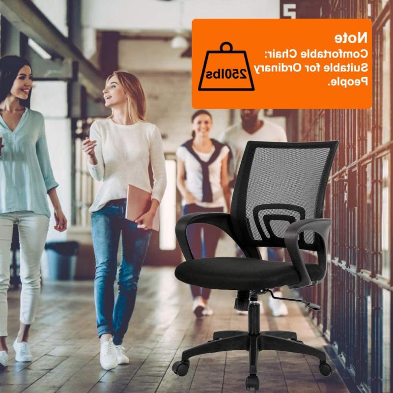 Home Office Chair Desk Mesh Chair Support A