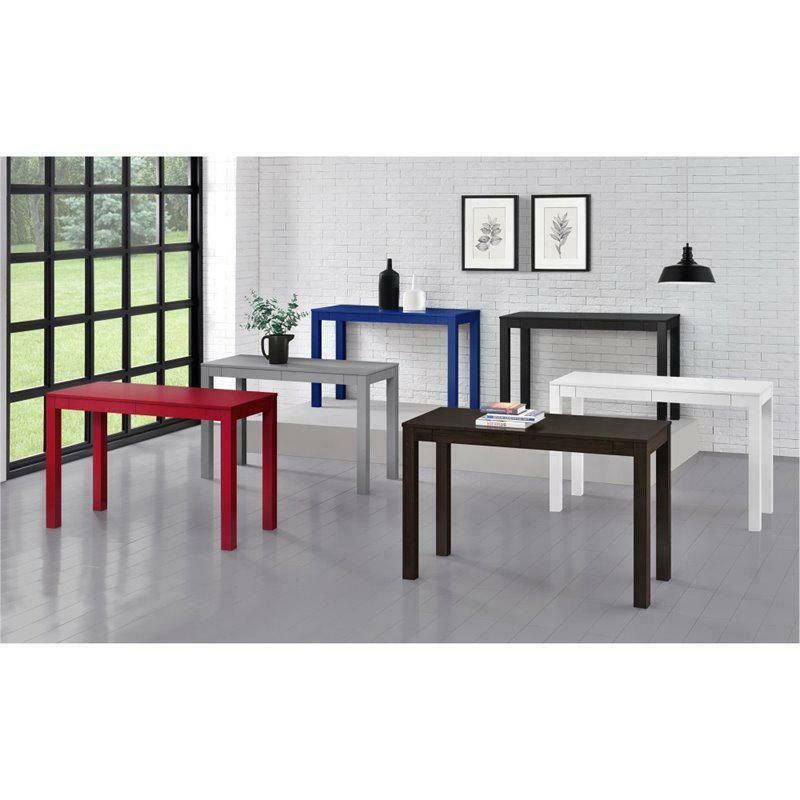 Home Office School Modern with 2 Drawers,