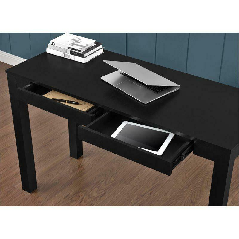 Home Office Modern Parsons Computer Desk with