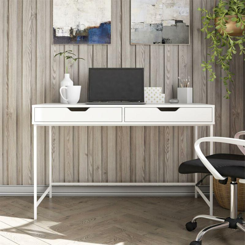 Ameriwood Desk with White