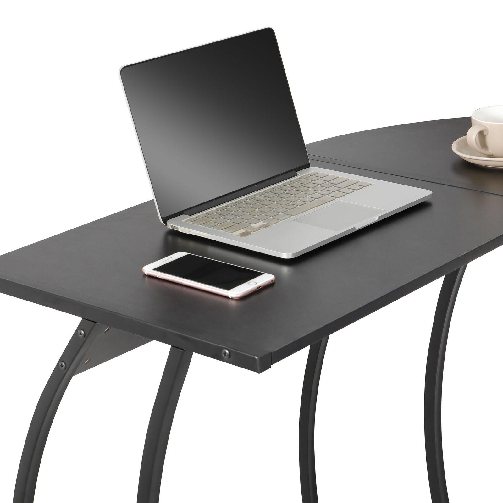 L-Shaped Desk Gaming PC Table Writting Home