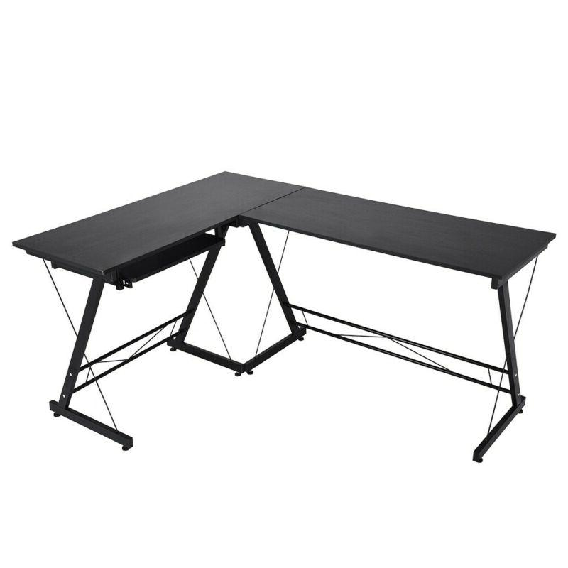 L-Shaped Desk Gaming Home Office