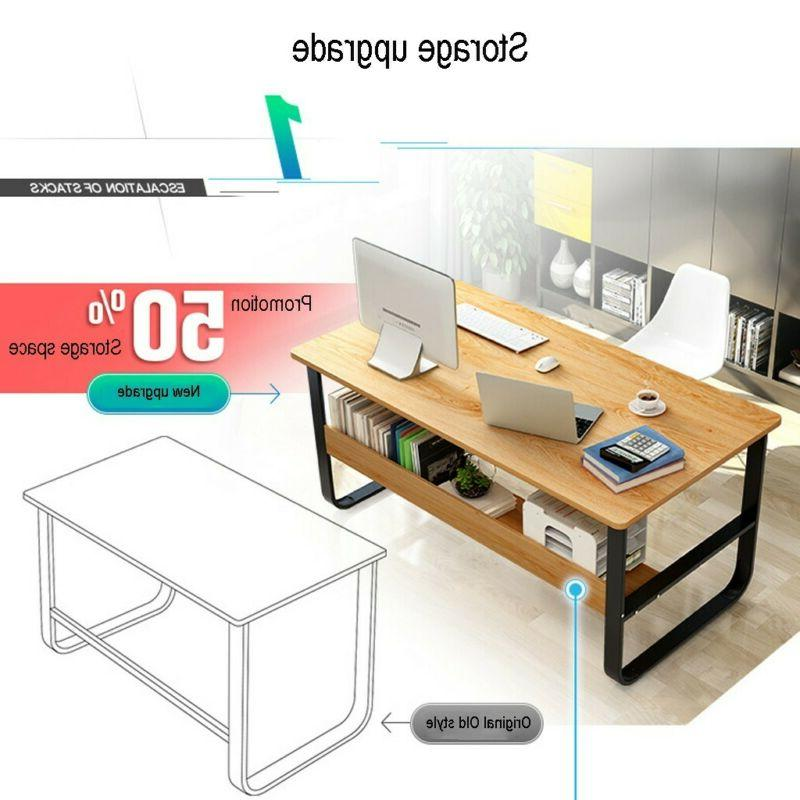 Computer Writing Dining Home Office w/Shelf