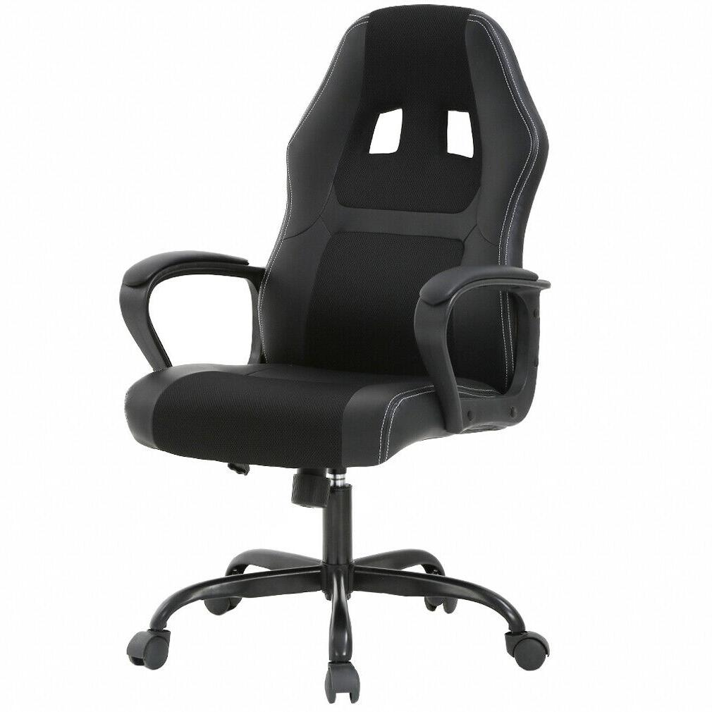 office chair gaming chair desk ergonomic leather