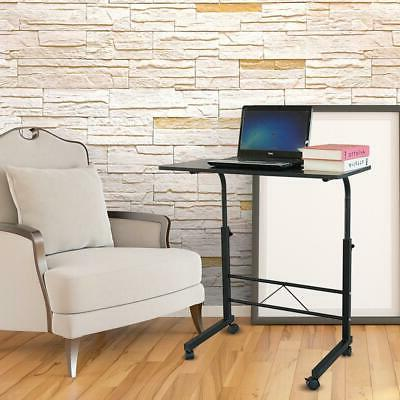 Portable Desk Office Workstation with 4Wheels
