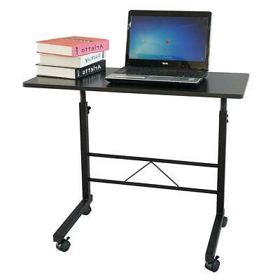 Office PC Workstation with 4Wheels