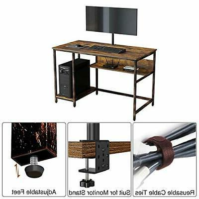 Rustic Home Office Desk with