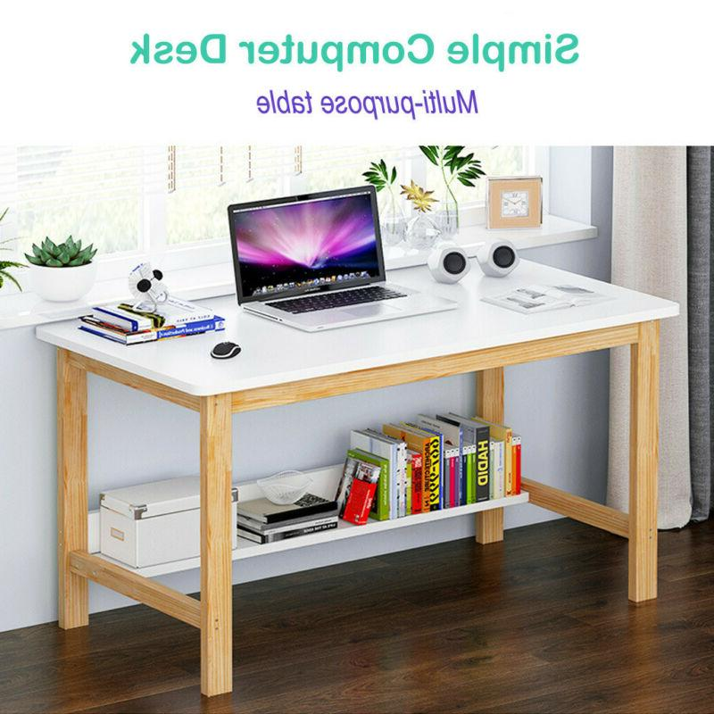 Computer Writing  Desk Laptop Table Workstation Home Office