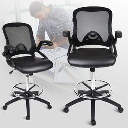 Ergonomic Computer Gaming Chair High Back Leather Desk Seat