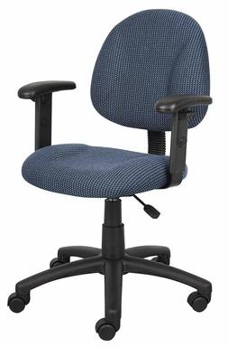 Rolling Office Computer Desk Chair Adjustable With Arms Back