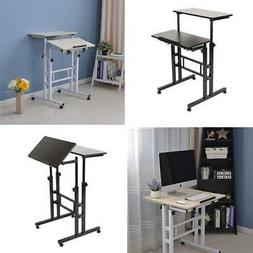 Stand Up Desk Height Adjustable Home Office Mobile Computer