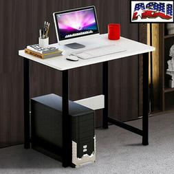 US Wooden Computer Table Study Desk Home Office Furniture PC