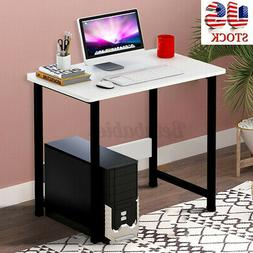 US Wooden Computer Table Study Desk Office Furniture PC Lapt