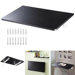 Wall Mounted Floating Folding Computer Desk PC Table Space S