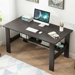 Wood Computer Desk PC Laptop Table Workstation Study Writing