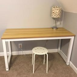 Wood Computer Table Home Study Desk Office Furniture PC Lapt