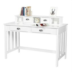 Writing Desk Home Study Office Computer PC Table w/ Storage